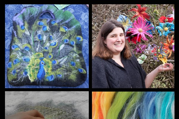 Felting Workshops with Eve Marshall