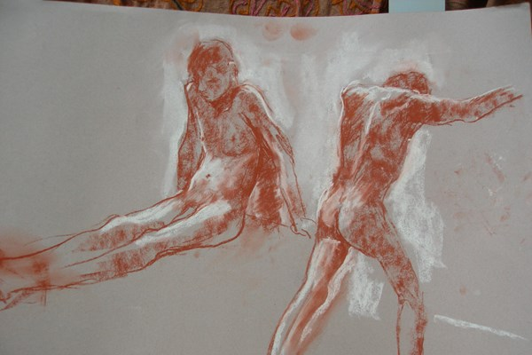 Life Drawing with Joanna 2nd Half Term - 2017