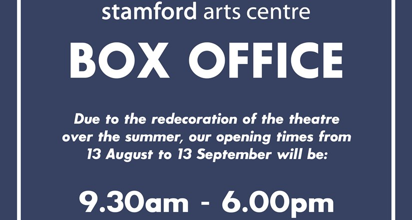 Box Office and Coffee Shop Hours