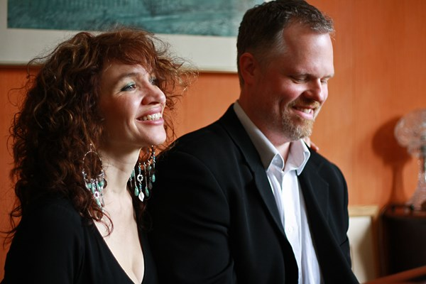 "Jacqui Dankworth and Charlie Wood ""Just You, Just Me"""