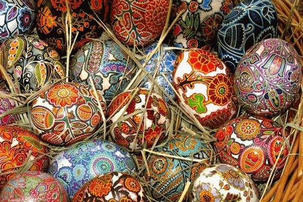 Pysanka Egg Workshop - Families
