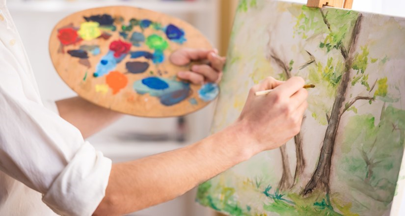 Monday Art Class with Heather Harrison Spring 2018