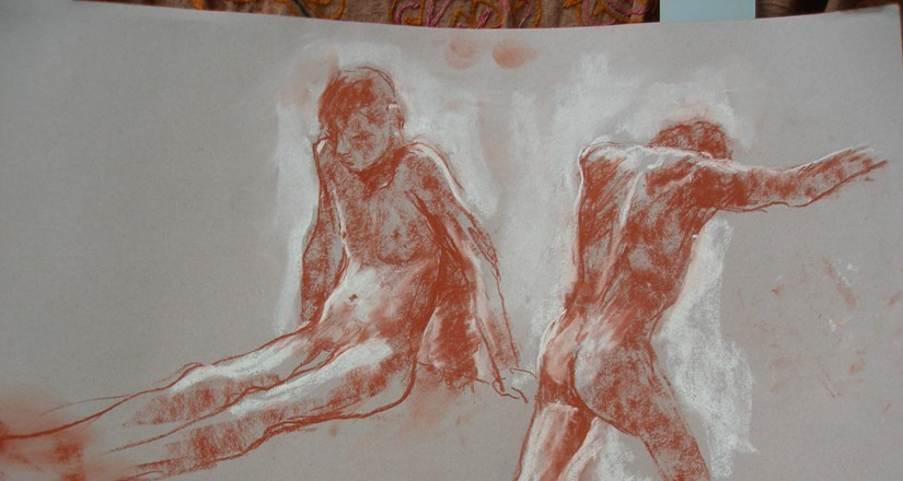 Life Drawing with Joanna Crawford Summer 2018 2nd Half Term