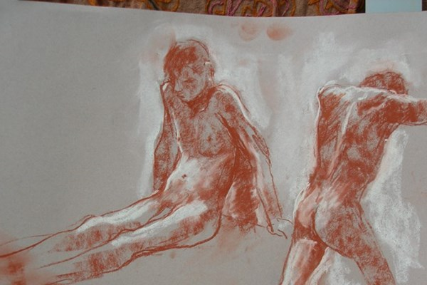 Life Drawing with Joanna Crawford Autumn 2017 1st Half Term
