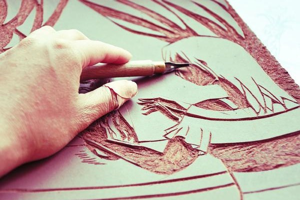 Lino Printing with Kate Genever