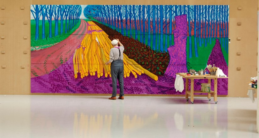 David Hockney - Exhibition on Screen