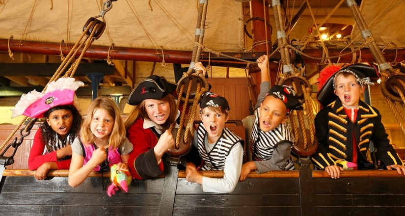 Pirates and Fairies Workshop