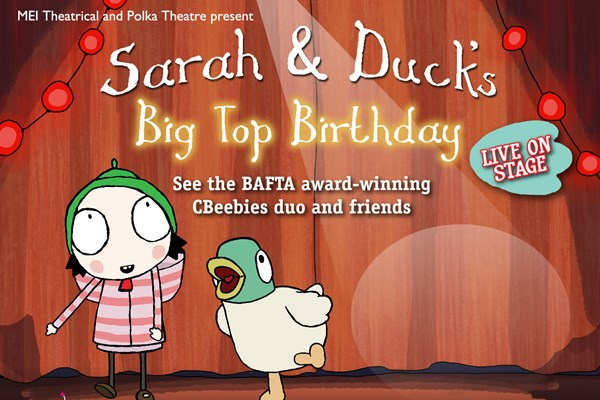 Sarah and Duck Live