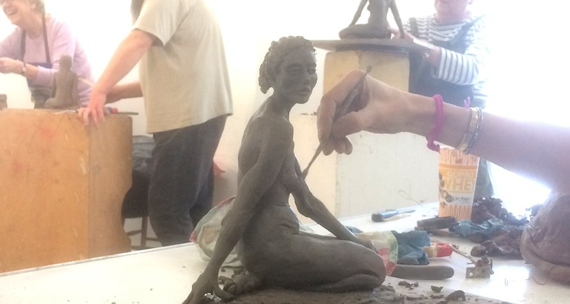 Sculpture class with Jonty Meyer Summer 2nd Term 2018