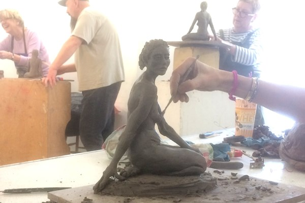 Friday Sculpture Class with Jonty Meyer 2nd Half Term Spring 2019