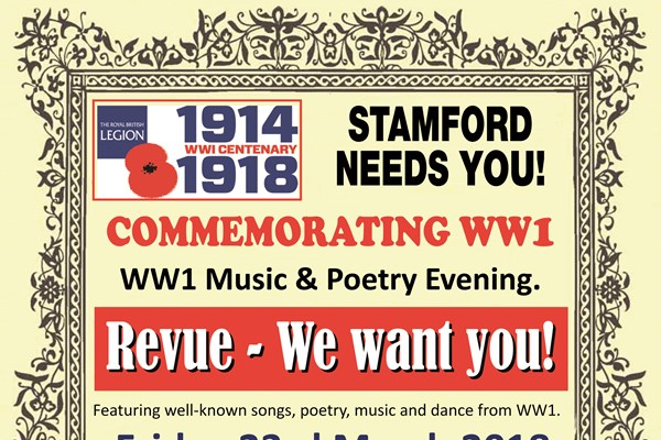 Music and Poetry Revue of WW1