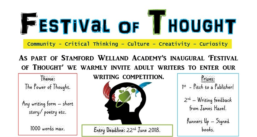 Festival of Thought - ADULT WRITING COMPETITION