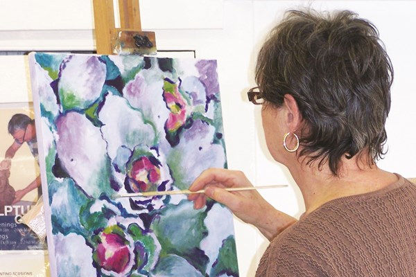 Monday Art Class with Heather Harrison Spring 2019 term