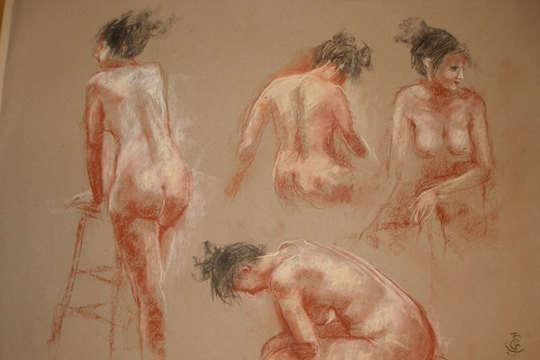 Life Drawing with Joanna Crawford - 2nd Half Term