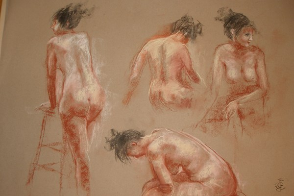 Life Drawing with Joanna Crawford - 1st Half Term