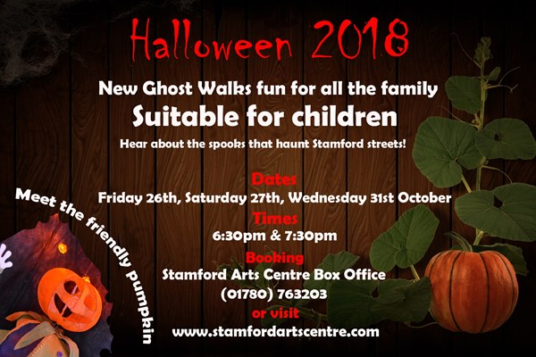 New! Stamford Family Halloween Ghost Walks
