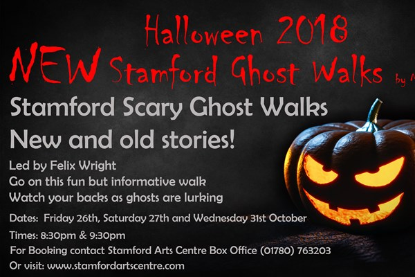 New! Stamford Halloween Ghost Walks