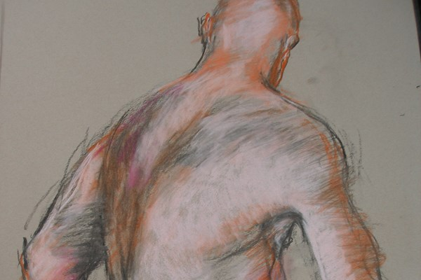 Life Drawing with Joanna Crawford 1st Half Term Spring 2019