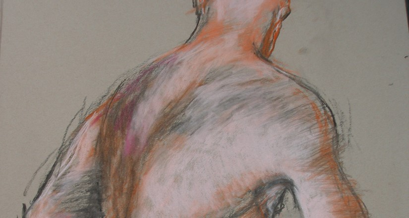 Life Drawing with Joanna Crawford 2nd Half Term Spring 2019