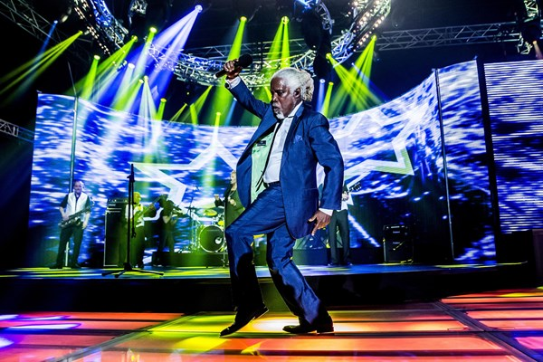 Billy Ocean at Burghley House