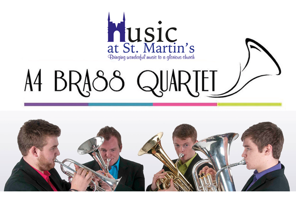 A4 Brass Quartet - Music at St Martins