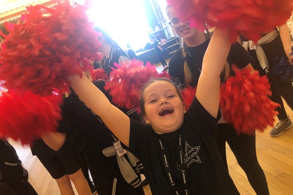 Cheerleading Fun - Wildcats