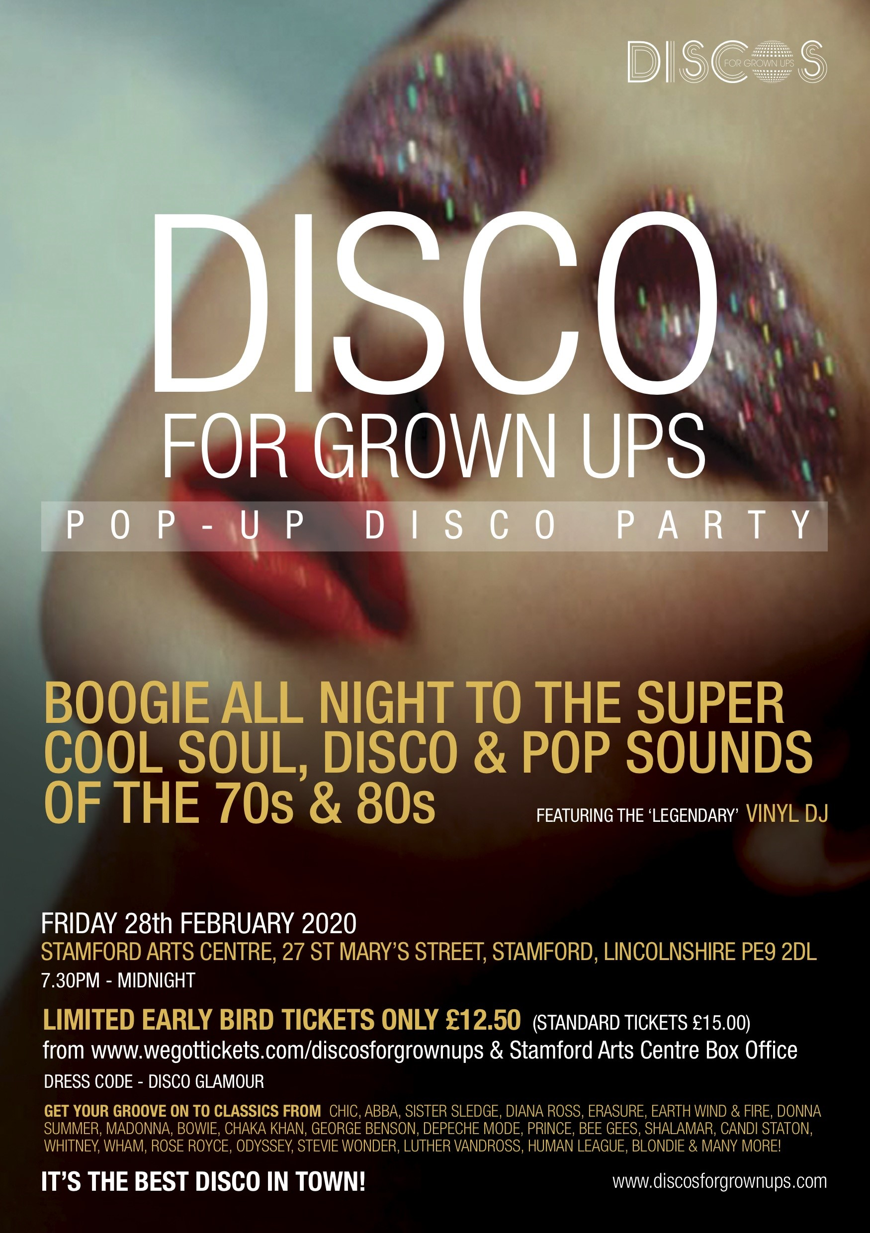 Discos for Grown Ups poster