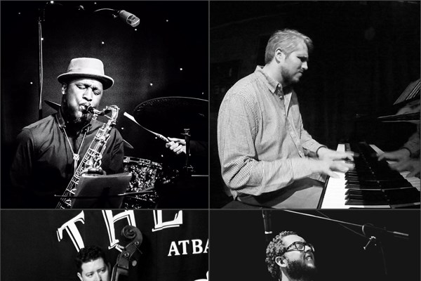 Andrew Wood Trio feat. Tony Kofi: Tenor Legacy - Jazz in the Cellar Bar