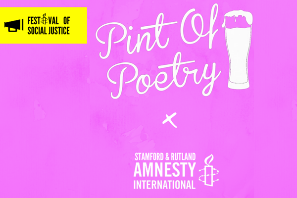FoSJ - Pint of Poetry - Social Justice Edition